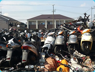 海外へ運ぶバイク