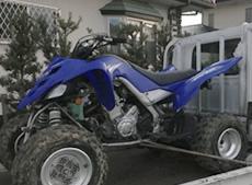 YAMAHA の700ccの四輪バギー