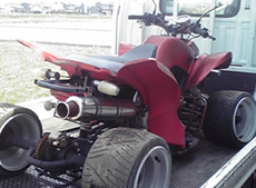 中華製造4輪バギー故障車