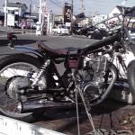 みよし市部品車(YAMAHA SR400)出張査定