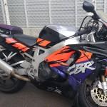 バイク事故車買取、名古屋(CBR900RR)出張買取