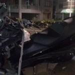 バイク買取(名古屋テレビ付近)事故車25.2.9