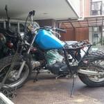 中区平和でバイク買取TW200部品車