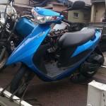 港区土古でバイク買取アドレスV50
