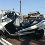 四日市市平町でバイク買取スカイウエーブ400