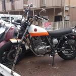 天白区梅ヶ丘 バイク買取 グラストラッカー(焼付き)