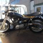 蒲郡市 バイク買取 SR400 長期放置