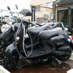 名古屋市西区木前 バイク買取 ビーノ(事故車)