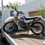 小牧市中央 バイク買取 セロー225(ボロボロ)