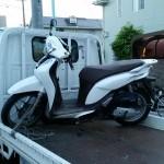昭和区折戸町 バイク買取 事故車 SHモード