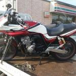 知多郡東浦町 事故車買取 CB400SFV(ボルドール)