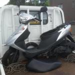 守山区で バイク買取 悪戯車両(アドレスV125)