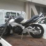 名古屋北警察署にて バイク買取 GSR400