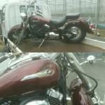 豊橋市天伯町 バイク買取 DSC400(事故車)