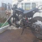 春日井市大留町 バイク買取 FTR223改造車