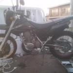 知立市新池 バイク買取 XR230(故障車)