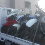 浜松市西区入野町 バイク買取 3台まとめて