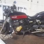 岡崎市大平町 バイク買取 ZRX400(事故)