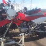 日進市本郷町 バイク買取 XR100(改造車)