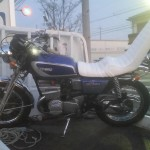 守山区八釼 旧車バイク買取 GT380(改造)