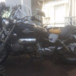 一宮市北神明町 バイク買取 マグナ50(鍵なし)