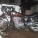 名古屋市南区西桜町 バイク買取 SR400(事故車)