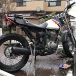 豊田市東梅坪 バイク買取 FTR223 ボロ放置