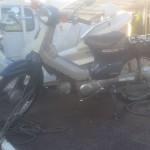 名古屋市北区志賀町 バイク買取 カブ50 改造車