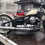 三重県津市安濃町 バイク買取 ドラックスターカスタム