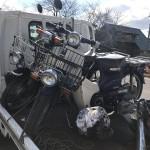 半田市亀崎町 バイク買取 スーパーカブ2台