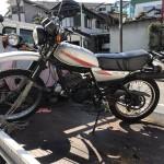 天白区池場 バイク買取 DT125(古いバイク)