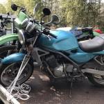 豊田市石野町 バイク買取 書類なし2台 不動車