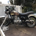 名古屋市港区当知 バイク買取 エストレア(長期不動)