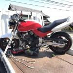 愛西市愛宕町 バイク買取 ホーネット250(自家塗装)