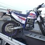 豊明市沓掛町 バイク買取 TTR250 廃車証なし