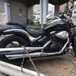 昭和区鶴舞 バイク買取 ブルーバード800長放置