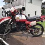 岩倉市井上町 バイク買取 XL250パリダカ 長期不動