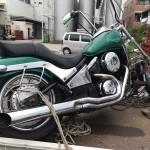 守山区瀬古東 バイク買取 バルカン400 改造車