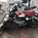 愛知県蒲郡市三谷北 バイク買取 改造モンキー長期不動車