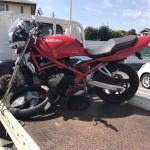 名古屋市緑区鳴海 バイク買取 バンデット250(レストア途中)