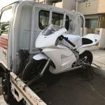 安城市桜井町 バイク買取 NSF100レーサー不動車