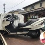 愛知県豊田市小坂町 バイク買取 スカイウエーブ(CJ45)