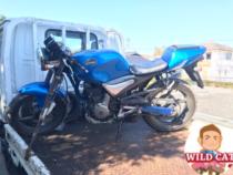 半田市鴉根 バイク買取 SUZUKIグース350 不動車