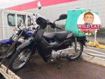 知立市広見にてバイク買取 原付スーパーカブ事故車