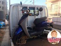 名東区本郷 バイク買取 原付today(AF67)不動車 傷多数