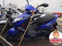 名古屋市北区東味鋺 バイク買取 原付2種シグナスX台湾