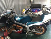 刈谷市池田町 バイク買取 HONDA NSR80 外装色あせ