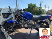 名古屋市北区桐畑町 バイク買取 VTR250過走行 状態下