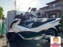 愛西市大井町 バイク買取 PCX125事故車 不動車