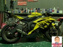 名古屋市南区でバイク事故車 買取 YAMAHA R6